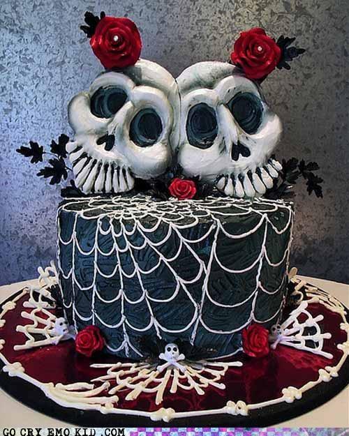 cake emolulz got skulls teeth - 5077453568