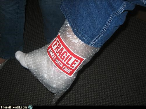 bubble wrap cast dual use