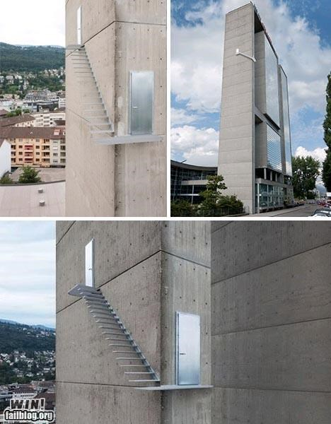 architecture building design dont-look-down stairs tower vertigo - 5077578240
