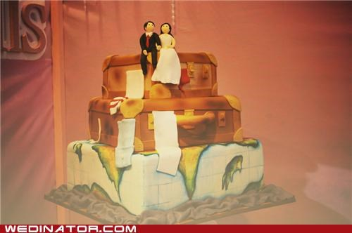 funny wedding photos Travel wedding cakes - 5077597184