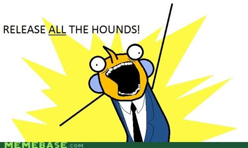 all the things hounds mr burns simpsons springfield - 5077618176
