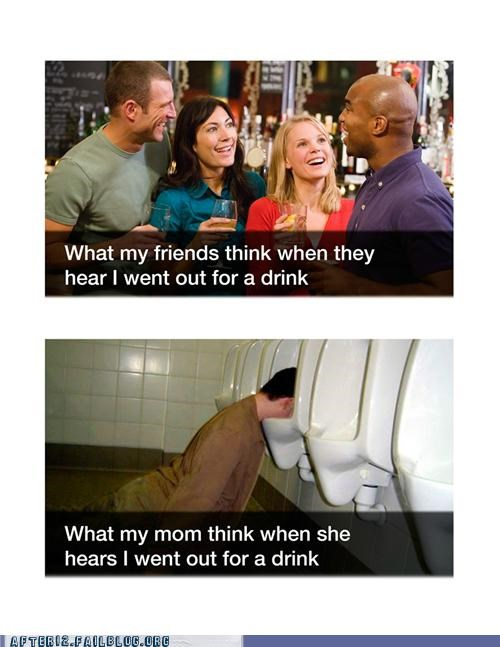 drunk misconceptions misunderstanding passed out social toilet - 5077685504