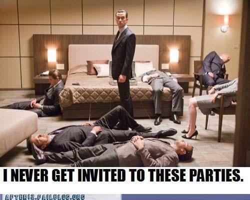 hotel Inception Joseph Gordon-Levitt Party passed out suit - 5077702656