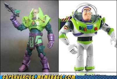 buzz lightyear,green,lex luthor,Random Heroics,space suit