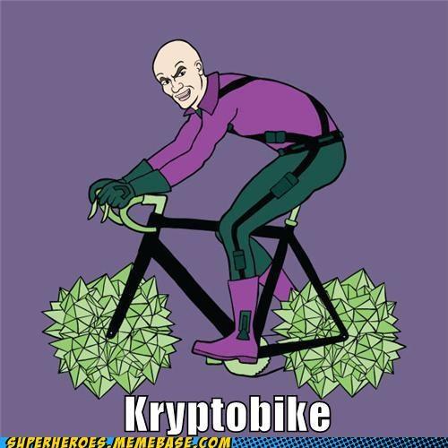 Awesome Art kryptonite lex luthor superman