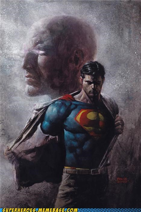 Awesome Art lex luthor painting superman - 5077863424
