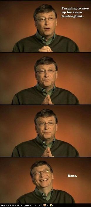 Bill Gates business man cars lamborghini rich - 5077918464