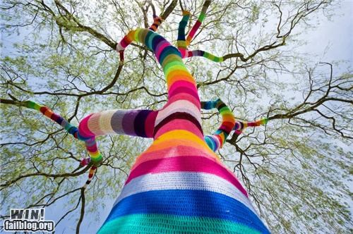 Hacked IRL: Tree Sock