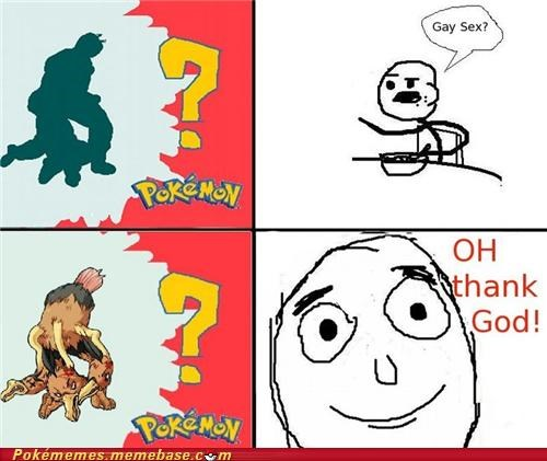 dodrio gay joke rage comic Rage Comics whos-that-pokemon - 5078800384