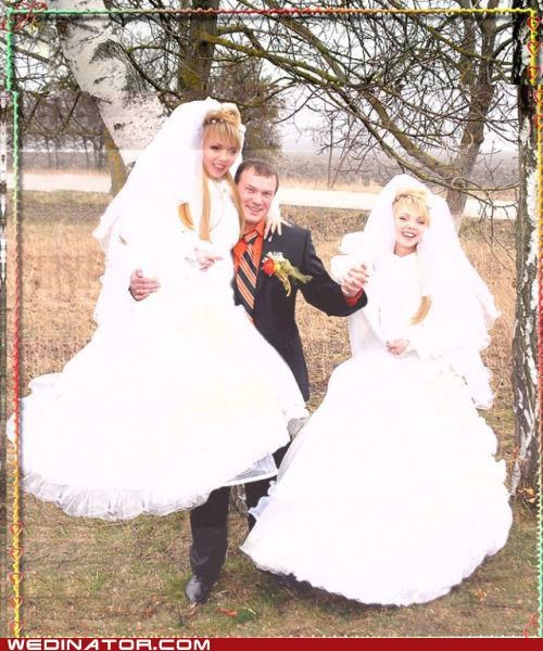 double photoshop brides russian weird