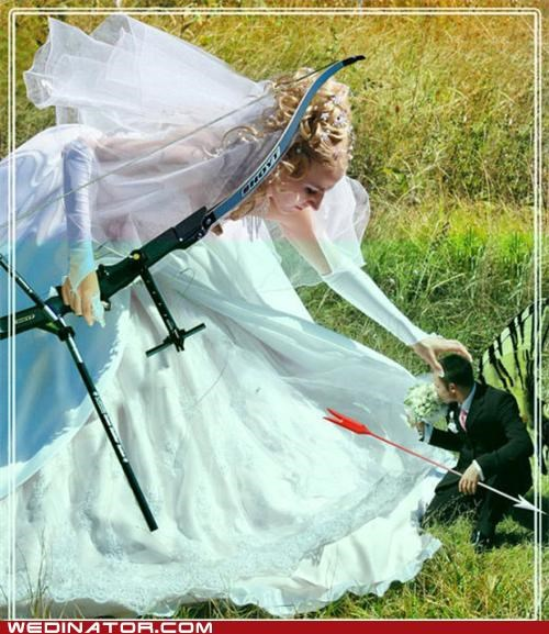 bow and arrow,photoshop,archery,weird