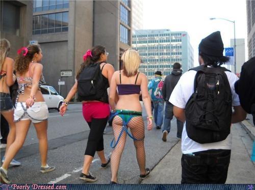 fishnets pants street - 5078981632