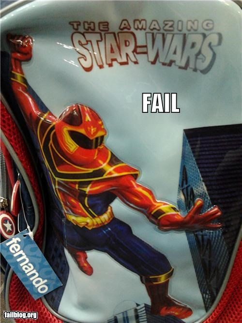 failboat g rated kids toy knockoff Spider-Man star wars - 5079406336