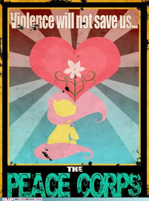 fluttersy peace corps poster propaganda - 5079420672