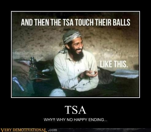 bin Laden,happy ending,hilarious,TSA