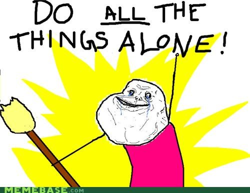 all the things chores forever alone things - 5080078080
