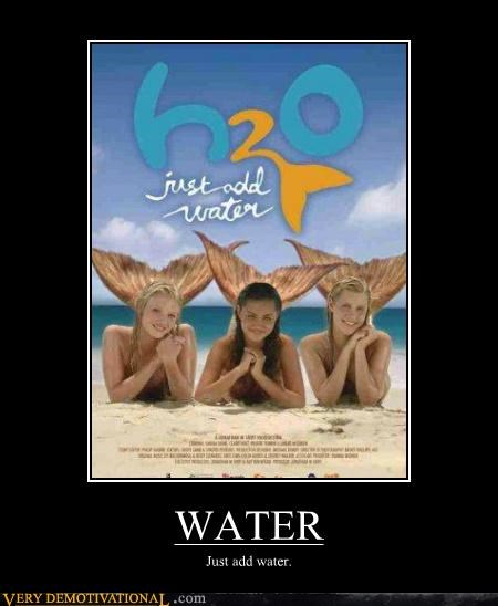 h2o hilarious poster water wtf - 5080481024