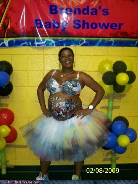 baby shower,parenting,pregnant,transformers,tutu
