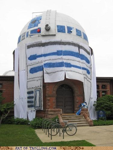 awesome building IRL observatory r2d2 star wars - 5080728320