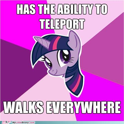 magic meme teleport twilight sparkle walk - 5080737536