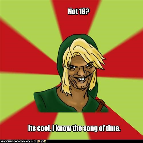 18 Dat Ash link pony song of time video games zelda