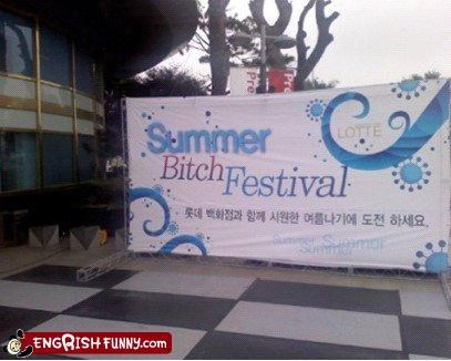 accidental sexism,festival,korea,mean,sign,thats-not-nice