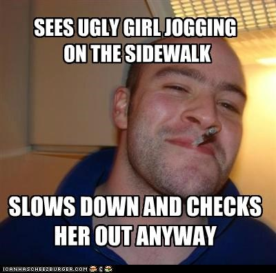 cars checks out Good Guy Greg ladies sidewalk walking - 5081397248