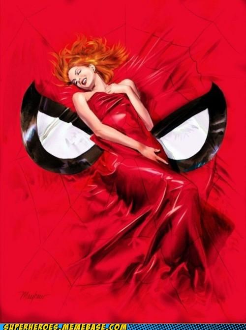Awesome Art hot mary jane Spider-Man - 5081432064