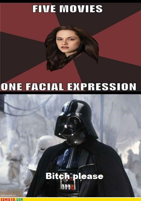darth vader facial expression kristin stewart star wars - 5081686528