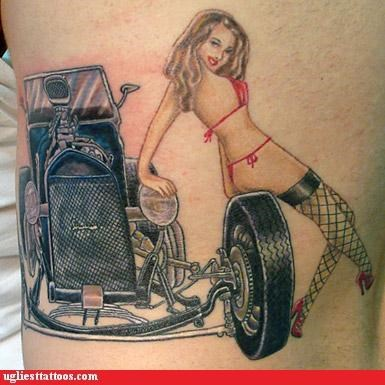 anatomy girls g rated Ugliest Tattoos weird wtf - 5082255616