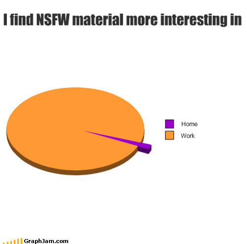 home,NSFW,Pie Chart,work