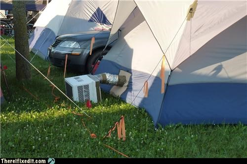 air conditioner camping wtf - 5083374592