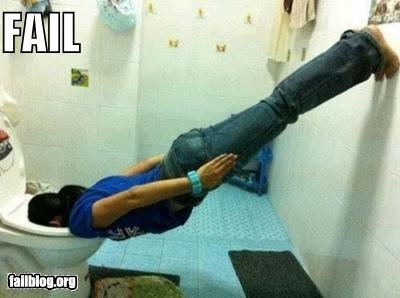 failboat g rated gross Planking toilet wtf - 5083463424
