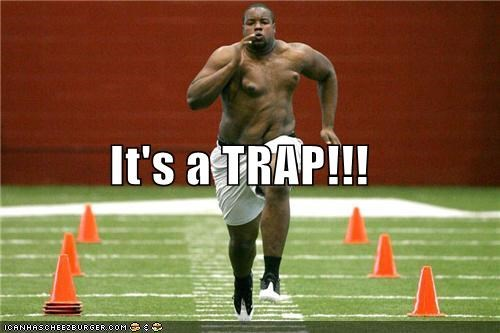 admiral ackbar fat gross its a trap look alikes obese running sports Up Next in Sports - 5083534592