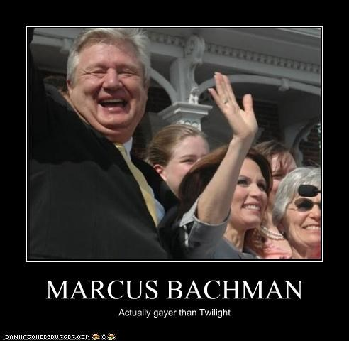 gay gayer than twilight Marcus Bachmann Memes Michele Bachmann Pundit Kitchen twilight - 5083911936