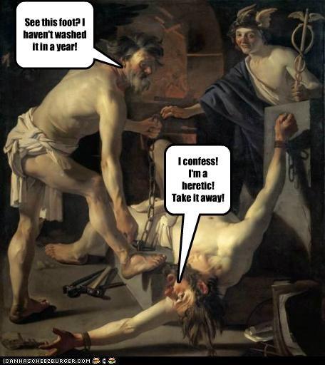art color funny painting portrait torture - 5084165632