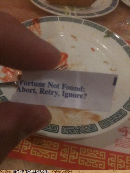 404 cookies error fortune fortune cookie IRL - 5084268544