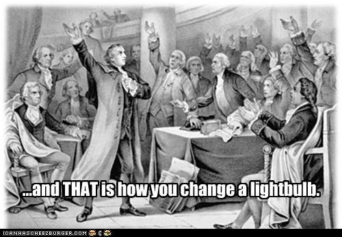 explanation founding fathers hands historic lols lightbulb - 5084396032