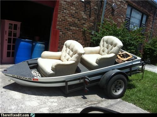 boat chairs dual use fishing furniture Hall of Fame - 5084924672