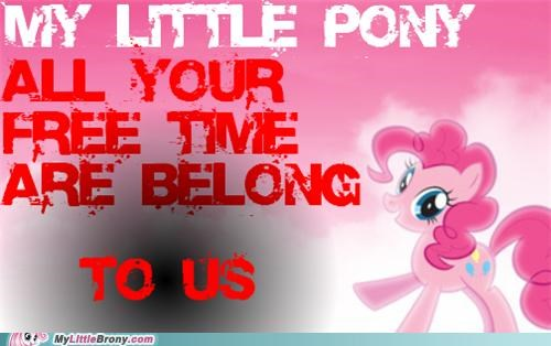 all your base free time pinkie pie procrastinate - 5085118464