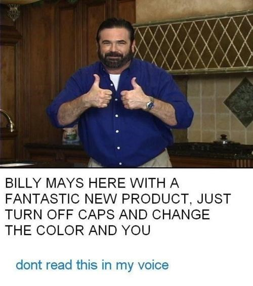 Billy Mays,ICWUDT,what manner of wizardry