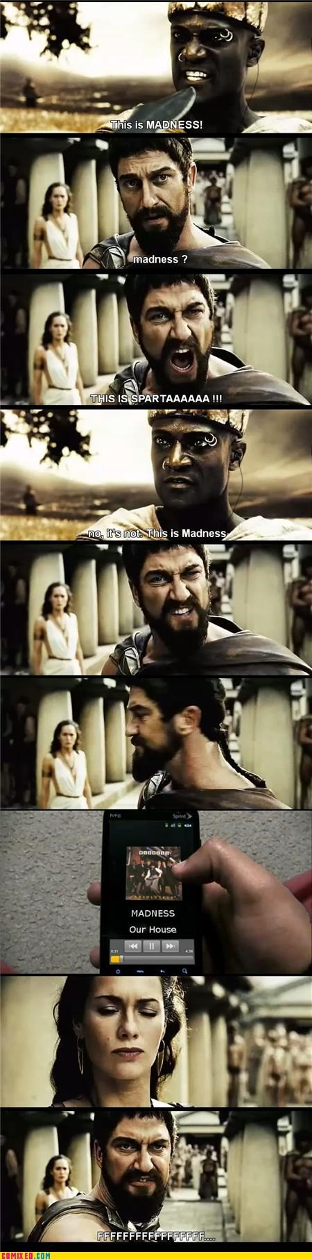 300 Harry Potter madness our house sparta