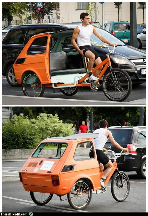 bike dual use eastern europe seems legit transportation