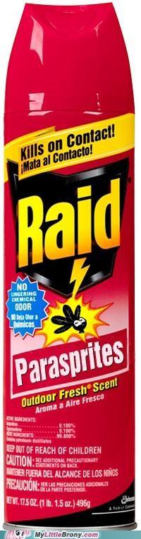 insect IRL parasprite raid repellant - 5087423232