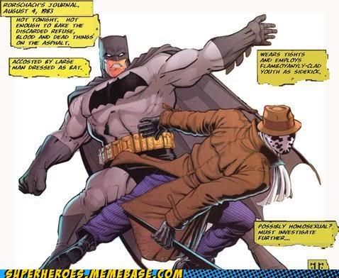 batman,Battle,comics,rorschach,Straight off the Page