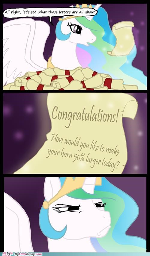 comics message princess celestia scroll spam - 5087997952