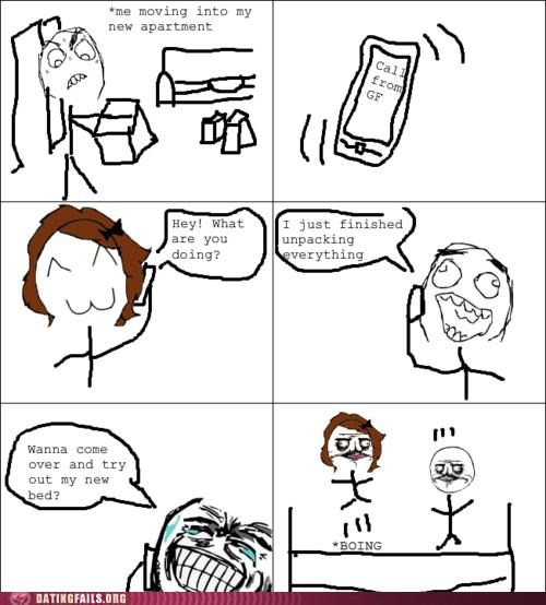 bed comic moving rage comic We Are Dating - 5088346880