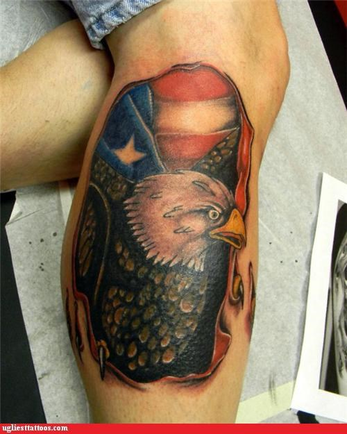 animals breaking out patriotism - 5088454912