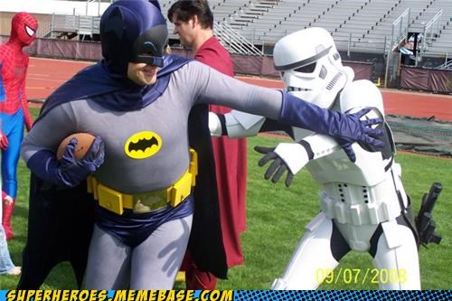 batman football Random Heroics stormtrooper wtf - 5088514560