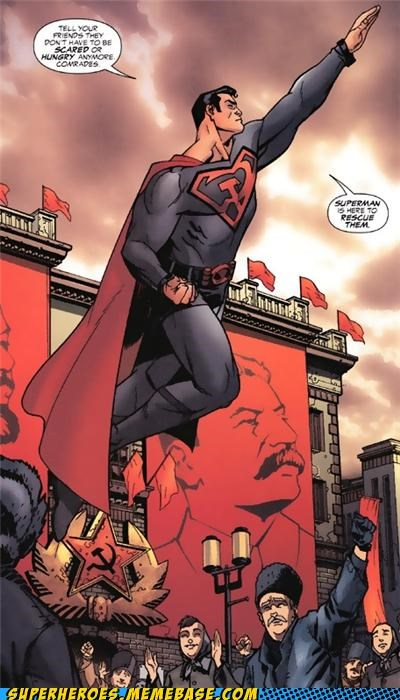 alternate universe russia scary Straight off the Page superman